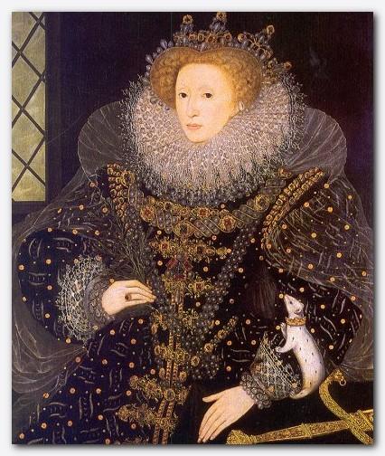 Slika 8 - Kraljica Elizabeta I.