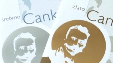Dve zlati Cankarjevi priznanji