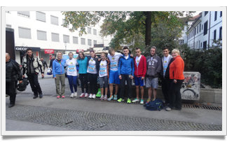 Naši dijaki na 19. ljubljanskem maratonu